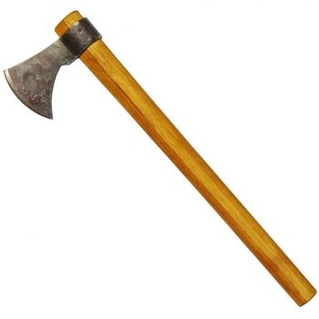 Shawnee Throwing Tomahawk