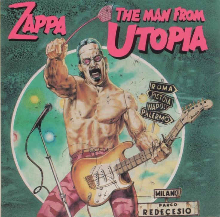 the man from utopia by Tanino Liberatore
