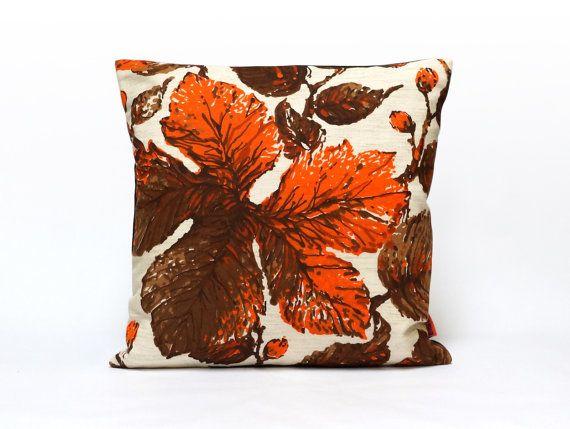 Modern Retro Cushion Cover Throw Pillow Orange Pillow Case