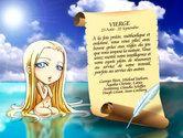 Carte astro de la vierge