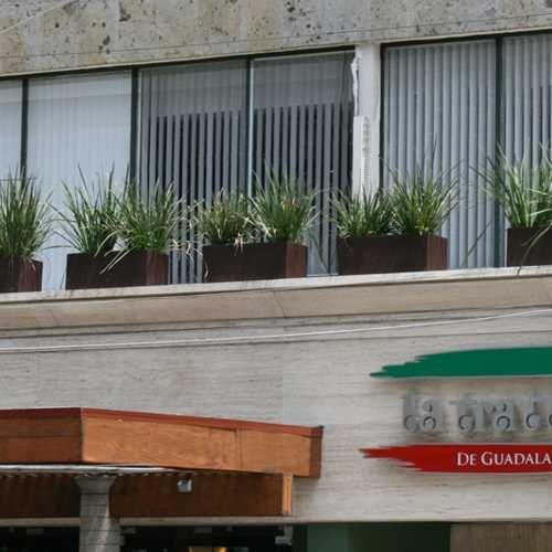 Macetas jardineras rectangulares de fibra de vidrio