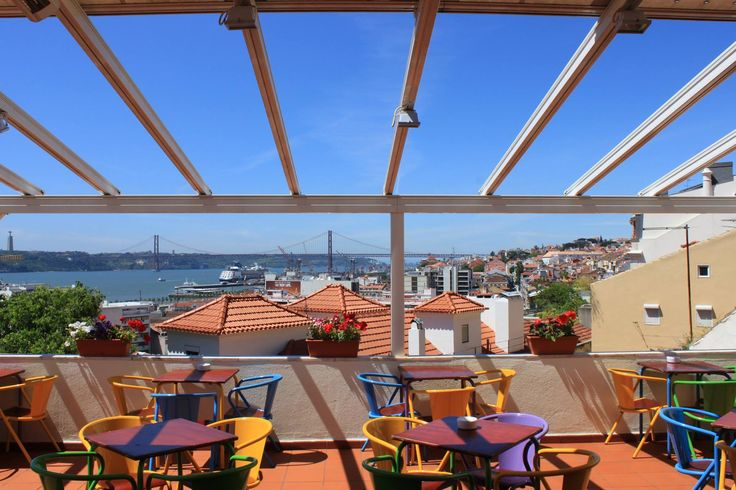 Do you like great views? Noobai café in Lisbon is the perfect place for you!