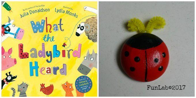 """Coccinella magnetica: un lavoretto creativo per il Book Club con """"What the Ladybird Heard"""" - FunLab Blog"""
