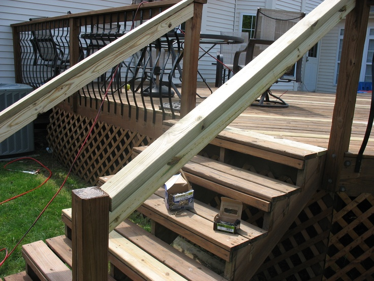 Deck Board Replacement Step Repair And Spindle