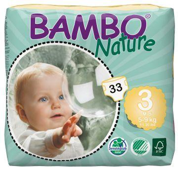 BAMBO NATURE NO:3 MİDİ 5-9 KG