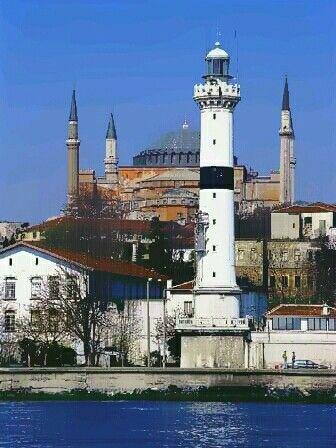 Sarayburnu lighthouse, İstanbul Turkey