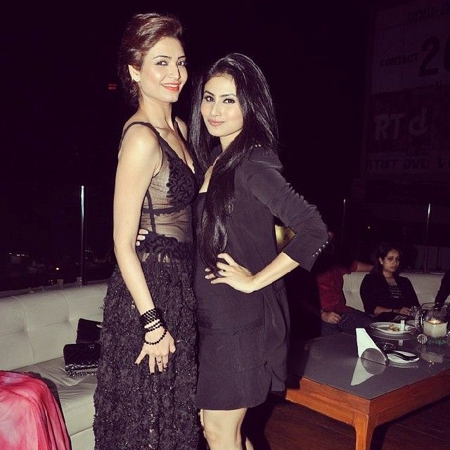 Celebs at Karishma Tanna's birthday bash 2014 #Style #Bollywood #Fashion #Beauty