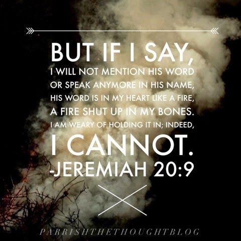 Jeremiah 20:9