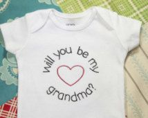 For the new Grandma! Pregnancy Reveal to Grandma, Pregnancy Announcement, Baby Reveal, Baby Announcement, Announcement Ideas