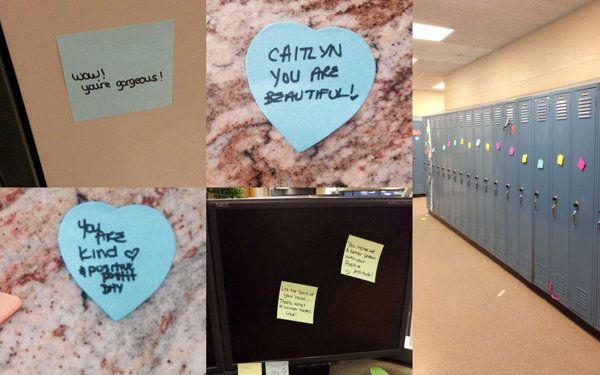 Move over, Pink Shirt Day. Canada is adding a new bullying awareness campaign to the mix. An Airdrie, Alta., high school student who was the target of bullying responded by posting positive messages around the local high school – a tactic that has spread across the country.