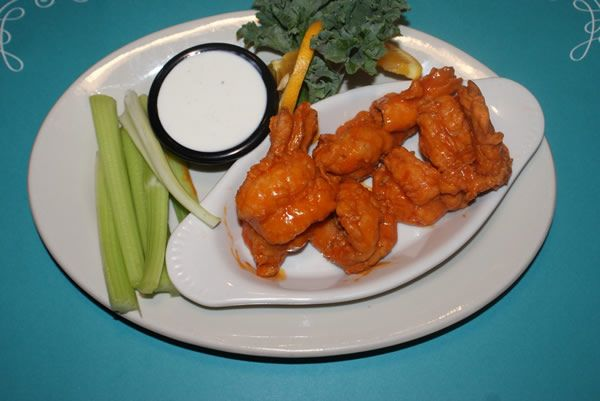 6 Pieces of Buffalo Jumbo Shrimp is only $6.99 at Bay Breeze of Ohio. Add this freshly prepared Buffalo Jumbo shrimp to your menu today!!! http://baybreezeofohio.com