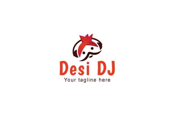 Desi DJ Stock Logo Template Design by VecRas Creations on Creative Market #LogoVenue #vecras #logoservices #vectorgraphic #logo #customservices #stocklogo #stockservices #stocklogos #creativelogo #logodesign #logodesignservice #design #graphic #indianlogo #desilook #djlogo #djjockey