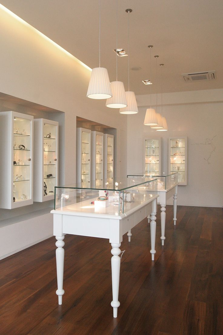 Jewellery display cabinets: if only we had more room!!