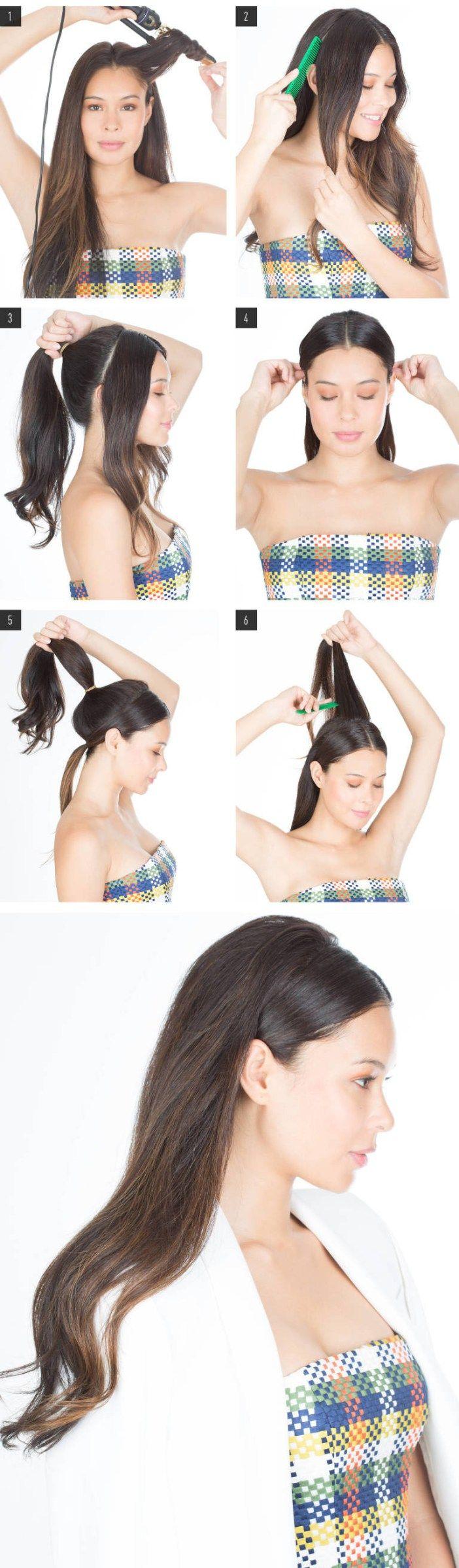 Bonjour ! On aime changer de coiffure comme ça nous chante ! On s'inspire et on copie ces 7 coiffures glamour en toutes circonstances ! 1/ La coi…