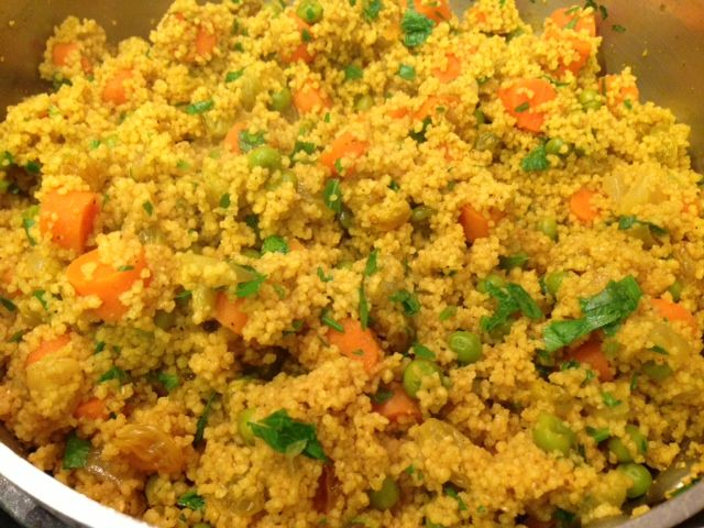 Easy couscous recipe middle eastern includes for Couscous food recipe