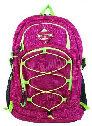 Velký batoh NEWBERRY do města / do školy HL0911 růžový - Kliknutím zobrazíte detail obrázku.