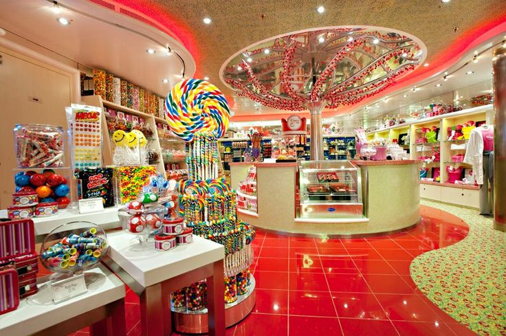 Candy Store On The New Carnival Breeze Ship Love It
