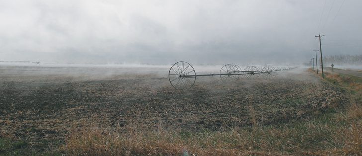 Why calm air causes spray drift - The Western Producer
