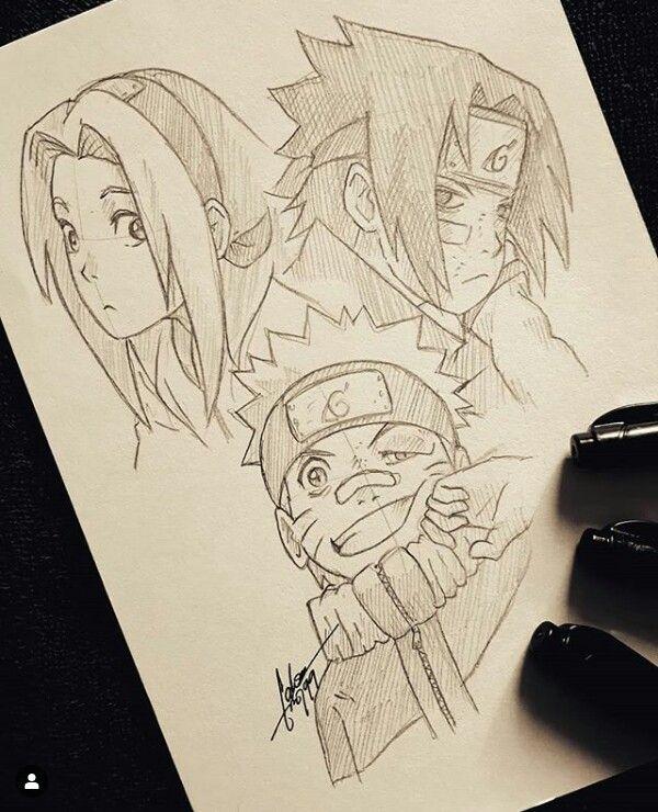 Pin De Sidney Cline Em Illustrations Arte Naruto Desenhos A