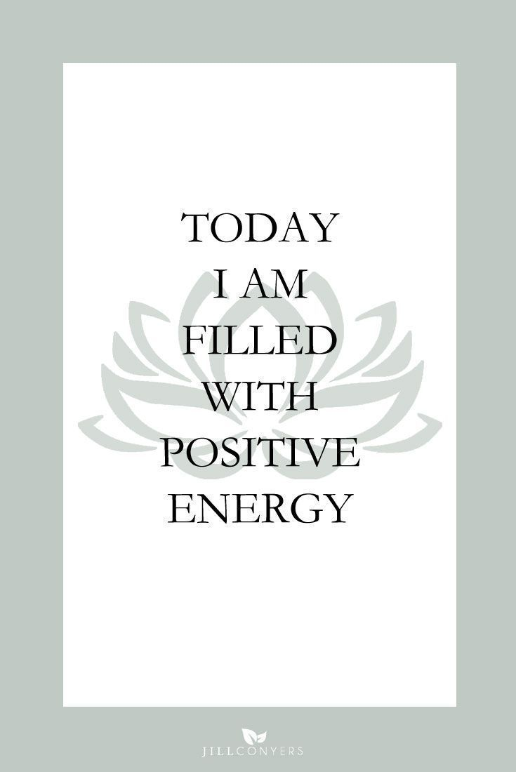 """25 AFFIRMATIONS TO START YOUR DAY IN A POSITIVE WAY   Create a habit of using daily affirmations and kickstart your day with a positive vibe and energy. Affirmations are positive, specific statements that help you to overcome self-sabotaging, negative thoughts. """"Whatever you hold in your mind on a consistent basis is exactly what you will experience in your life."""" Click through to download the FREE positive affirmation posters. Pin it now to have more affirmations to use later. @jillconyers"""