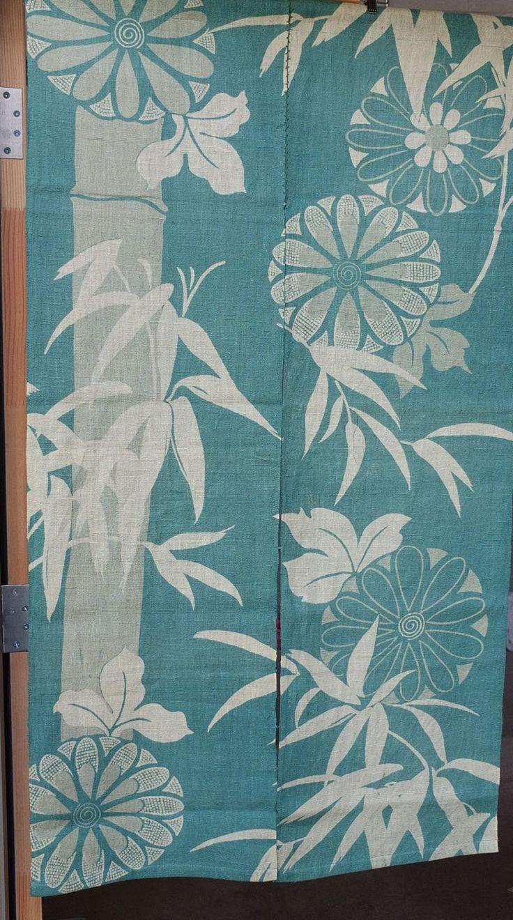 72 mejores im genes sobre noren cortinas japonesas en - Cortinas estilo japones ...