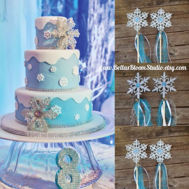 50 best FROZEN PARTY DECORATIONS images on Pinterest Birthday