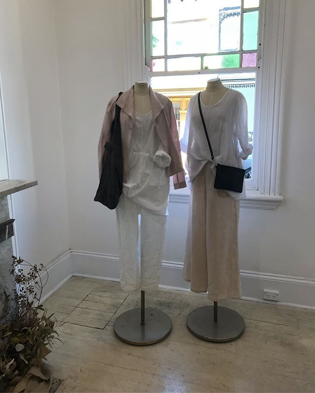 Girls light and breezy for today's unusual April weather...33 degrees still at 2.30 ...not to worry as we have lots of beautiful linens and cottons still in store and online just perfect for this crazy weather @jiva_clothing #linen #cotton #locallymade #warmweather #transeasonal