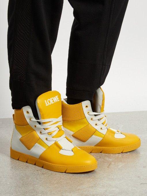 05 Antibe Paillettes Chaussures De Sport High-top Saint Laurent hiYRnvk