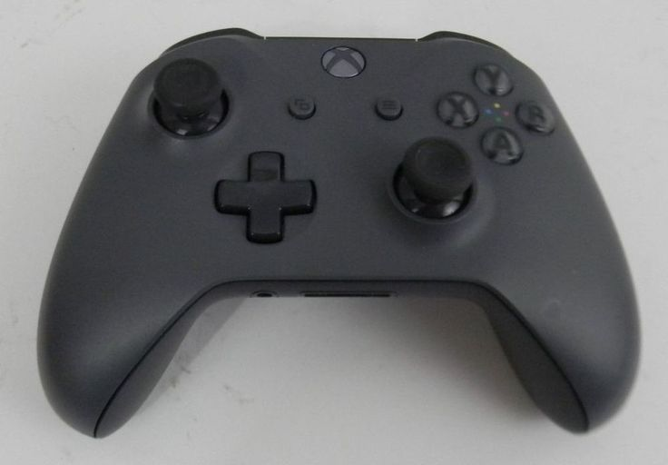 XBox One Wireless Controller Gray For Parts Only One Stick Has Glitch Video Game #Microsoft