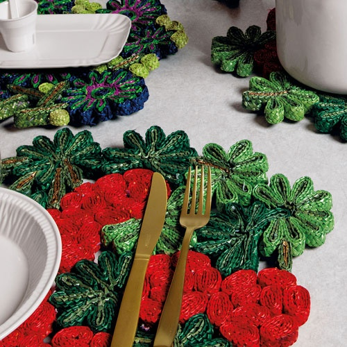 Florigraphie by SELETTI table mats    coming soon at Oikos!