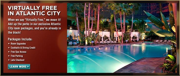 The pool at Harrahs AC is amazing!!! #casino #AC #gambling #pool #nightlife #entertainment #cocktail #dj #music