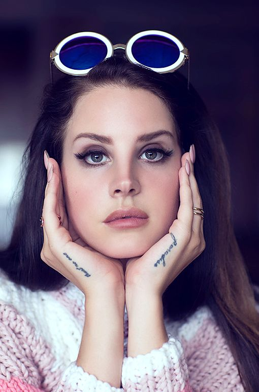 Lana Del Rey photographed by Chris Nicholls for Fashion Magazine, 2014