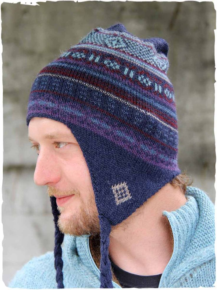 New Etnico #woolhat  #knithat with ear flaps for men and women. #alpacawool #hats - See more at: http://www.lamamita.co.uk/en-US/store/winter-clothing/1/men-s-clothing-accessories/new-etnico-wool-hat#sthash.S6yFUgJJ.dpuf
