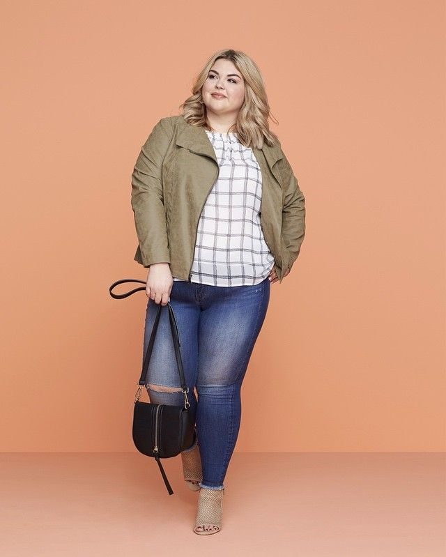 """Have you heard the news? We now carry sizes 14W-24W & 1X-3X! Take it from @learningtobefearless, """"Stitch Fix has made my fashion dream come true by finding me the perfect jeans. They're on-trend, comfortable & right for my budget. And, it was so easy. My Stylist just understood my shape."""""""