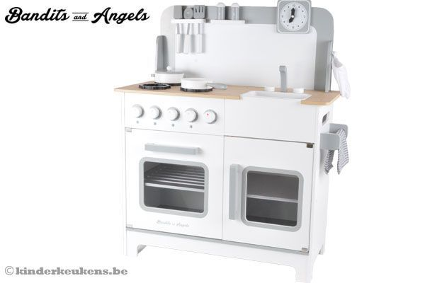 Bandits & Angels Chef Deluxe XL white | Kinderkeukens.be