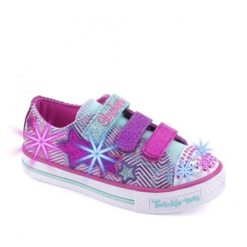 Tenisi fete Twinkle Toes Turquoise - Skechers