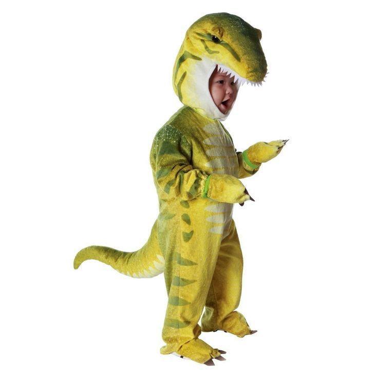 Boys' Toddler Tyrannosaurus Costume 2T-4T, Toddler Boy's, Green