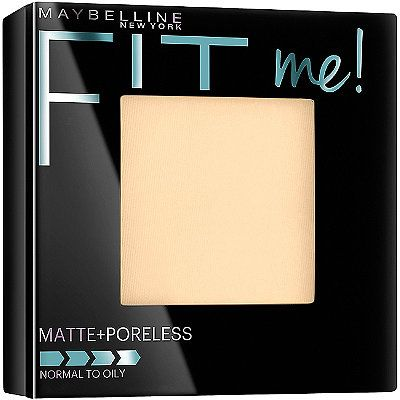 Maybelline Fit Me Matte + Poreless Powder Translucent |  So far this is the only translucent powder that cooperates with my skin. It doesn't make my skin look dry, or cakey.