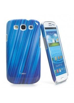 Coque Muvit fusion bleu galaxy S3  24,90€