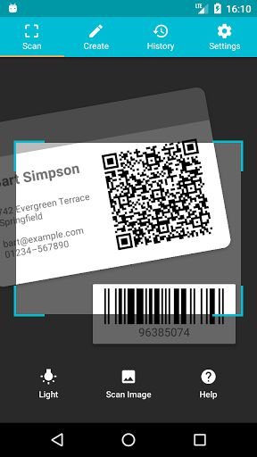 QR & Barcode Reader (Pro) v1.0.4/P [Paid] Requirements: 4.1+ Overview: Scan all kinds of QR codes and barcodes. Quickly access functions relevant to your scans: For example, add contact data to your address book or connect to a WiFi hotspot with a single click.        Scan b...