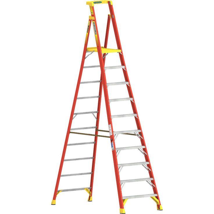 Werner PD6208CA, 8' Type IA Fiberglass Podium Ladder  http://cf-t.com/product/werner-pd6208ca-8-type-ia-fiberglass-podium-ladder/