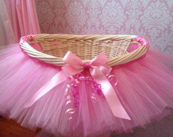 Tutu Sweet Cotton Candy Tutu Basket Tutu Gift by MissMadelynsBows