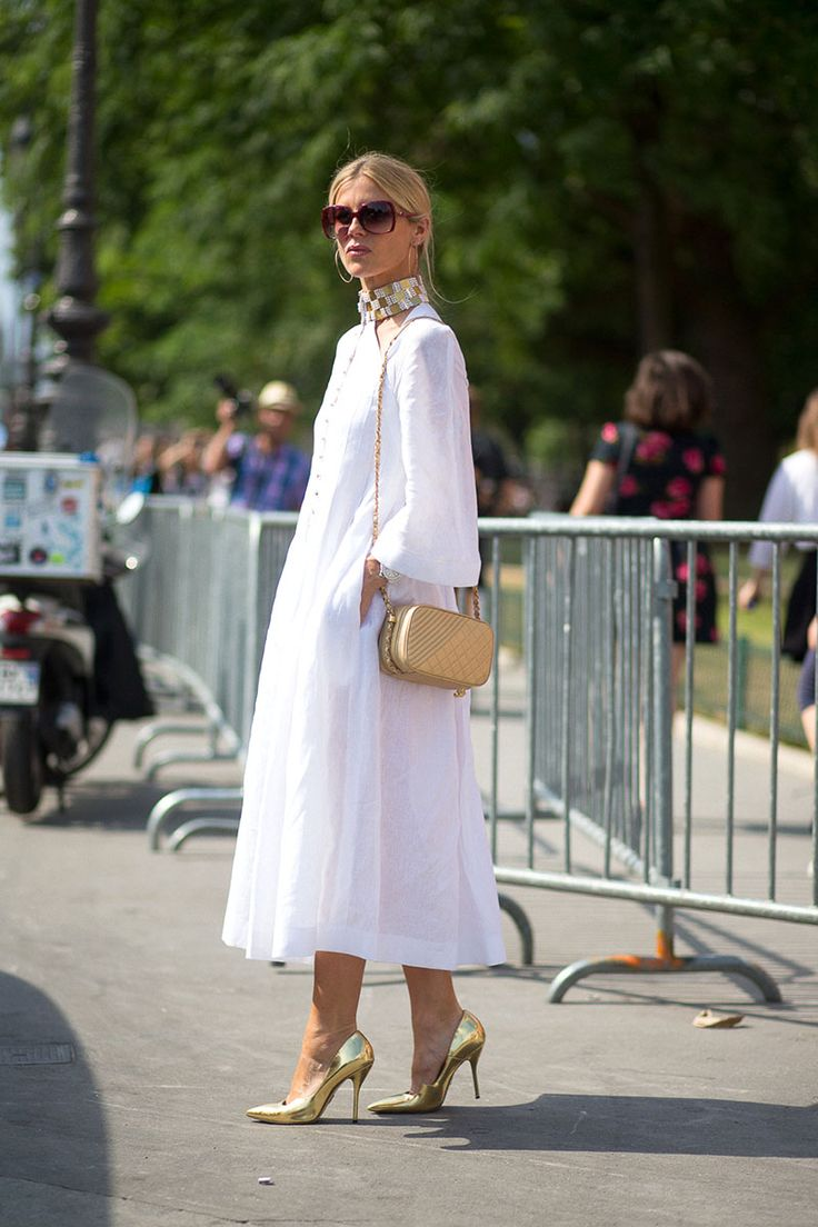 Paris Couture Week #StreetStyle 2015 - Laura Bailey