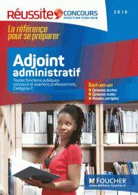 Olivier Berthou et Odile Girault - Adjoint administratif, Catégorie C - Toutes fonctions publiques, concours et examens professionnels. http://hip.univ-orleans.fr/ipac20/ipac.jsp?session=145769L71795W.995&menu=search&aspect=subtab48&npp=10&ipp=25&spp=20&profile=scd&ri=&term=Adjoint+administratif%2C+Cat%C3%A9gorie+C+-+Toutes+fonctions+publiques%2C+concours+et+examens+professionnels&index=.GK&x=0&y=0&aspect=subtab48&sort=