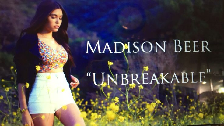 "Madison beer ""Unbreakable"" style"
