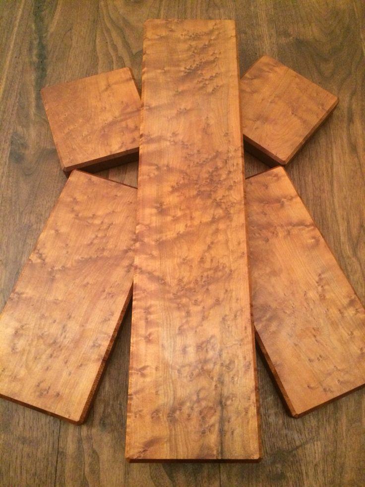 Matching set of Birdseye Maple Serving/Cutting boards