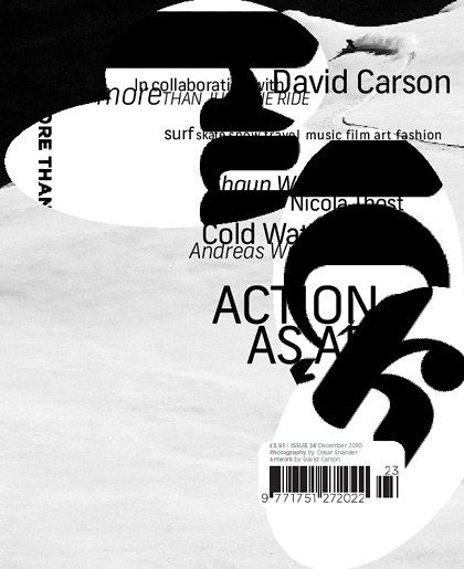 """David Carson: Type designer David Carson is the """"grunge typographer"""" whose magazine Ray Gun helped explode the possibilities of text on a page. Why you should listen to him: David Carso…"""