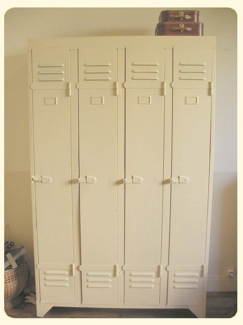 1000 id es sur le th me casier vestiaire sur pinterest for Armoire casier industriel