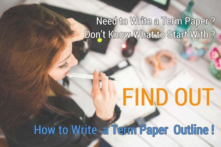 How to make term paper outline