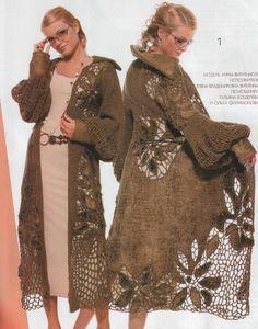 Просмотреть все модели а также скачать журнал Вязание крючком (Мода и модель) 12 2012 года Вы можете пройдя по ссылке...